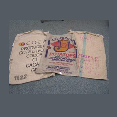 RECONDITIONED BURLAP BAGS