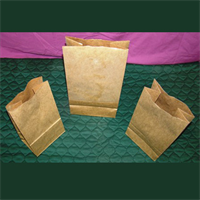 HEAVY DUTY BROWN KRAFT GROCERY BAGS